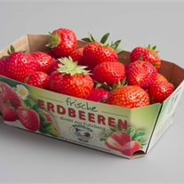 berries - cardboard tray